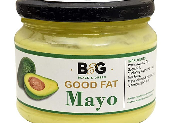 Black and Green's Extra Virgin Avocado Oil Good Fat Classic Mayonnaise - 220 gms