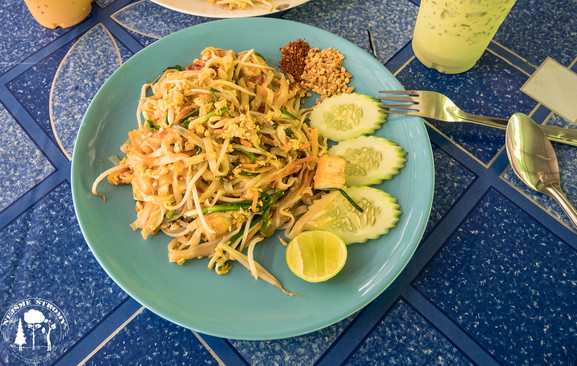 Pad Thai je taková Thajská klasika, která nám ale fakt chutnala