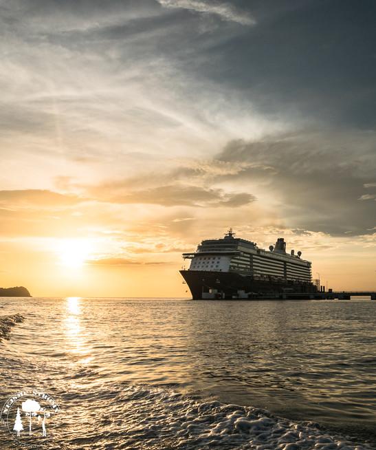 Výletní lodě kolem Langkawi projíždějí docela často