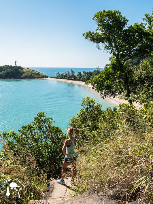 Národní park na jihu ostrova Ko Lanta je hezkým místem na odpočinek a na krátké procházky
