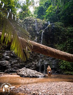 Výlet do Jungle za tímhle  vodopadem byla skvélá změna od plážového válení