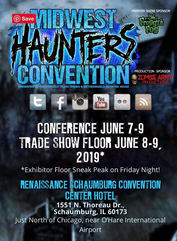SiminsCreations @ the Midwest Haunters Convention Booth 409