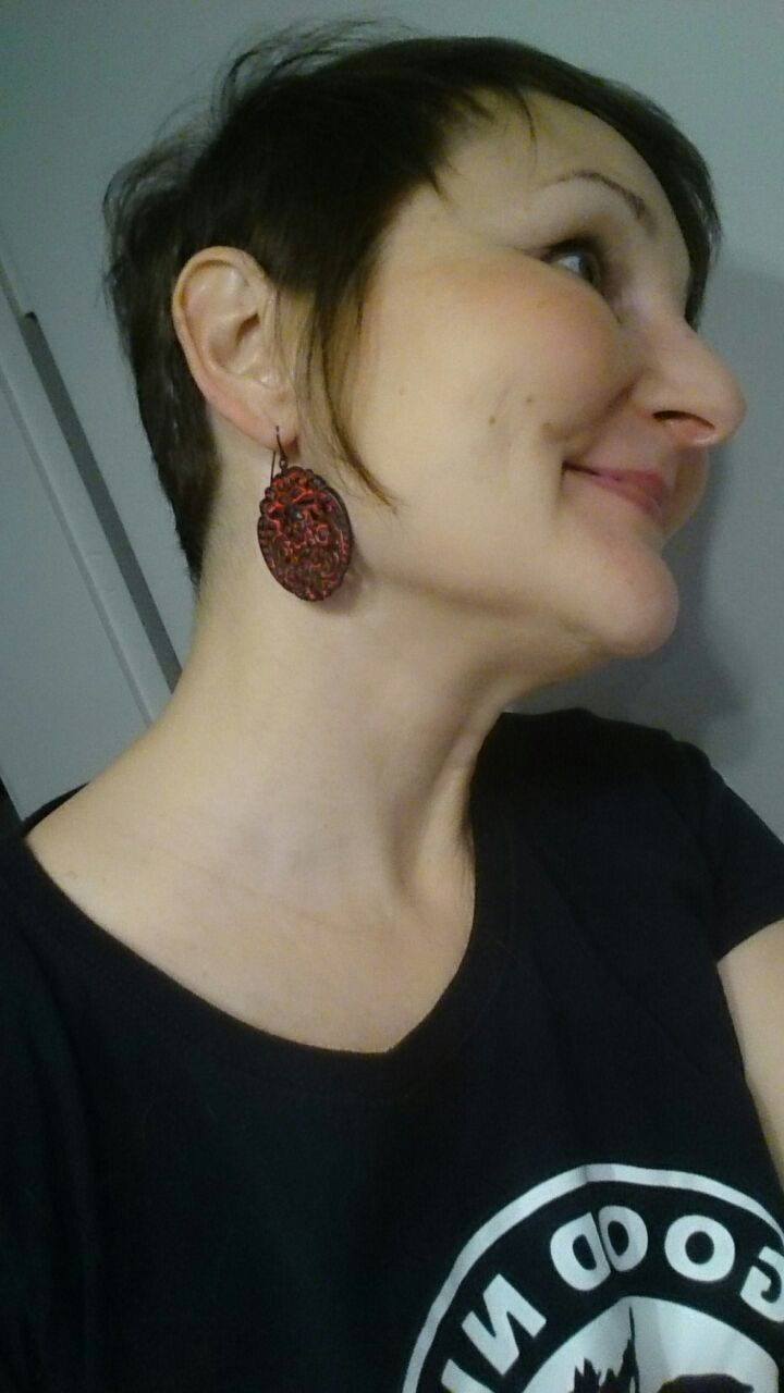 Krampus Earring Collection
