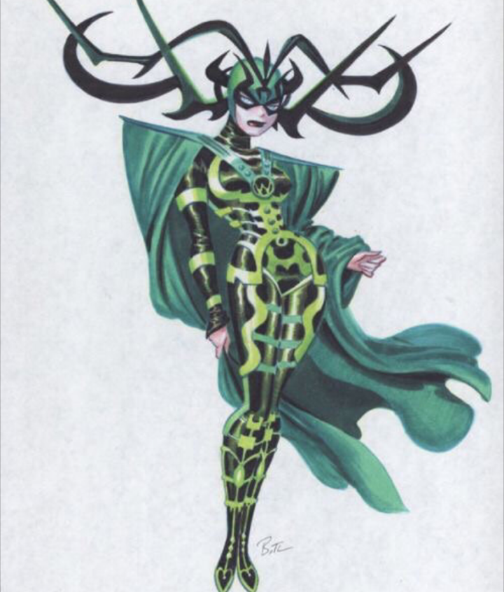 Hela is the Nordic Goddess of Death