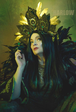 Dark Geisha Headress
