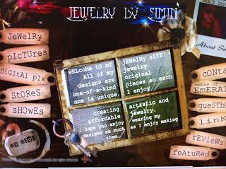 My New Jewelry Web Site look