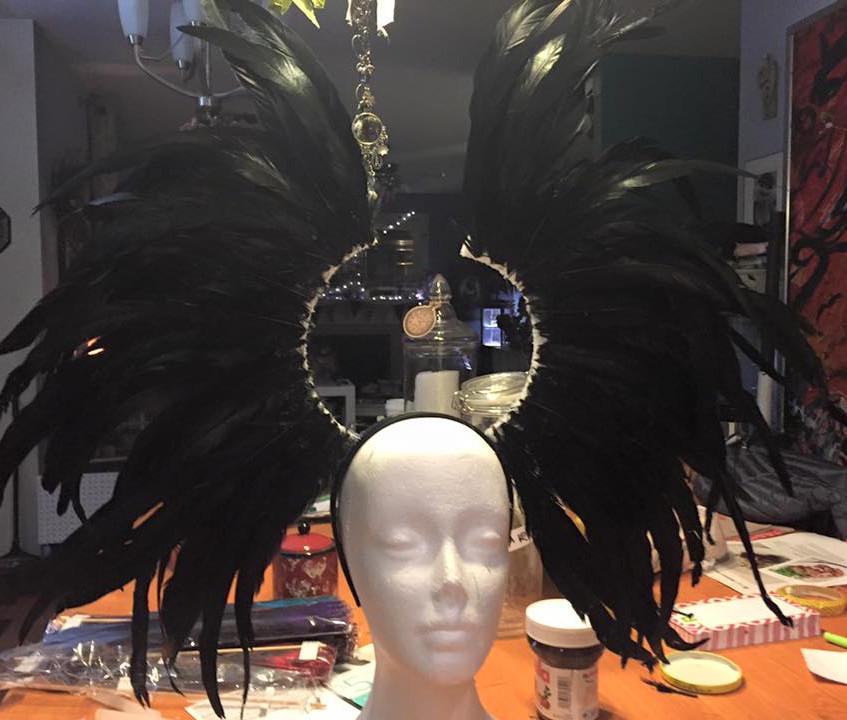 Headdress in Works