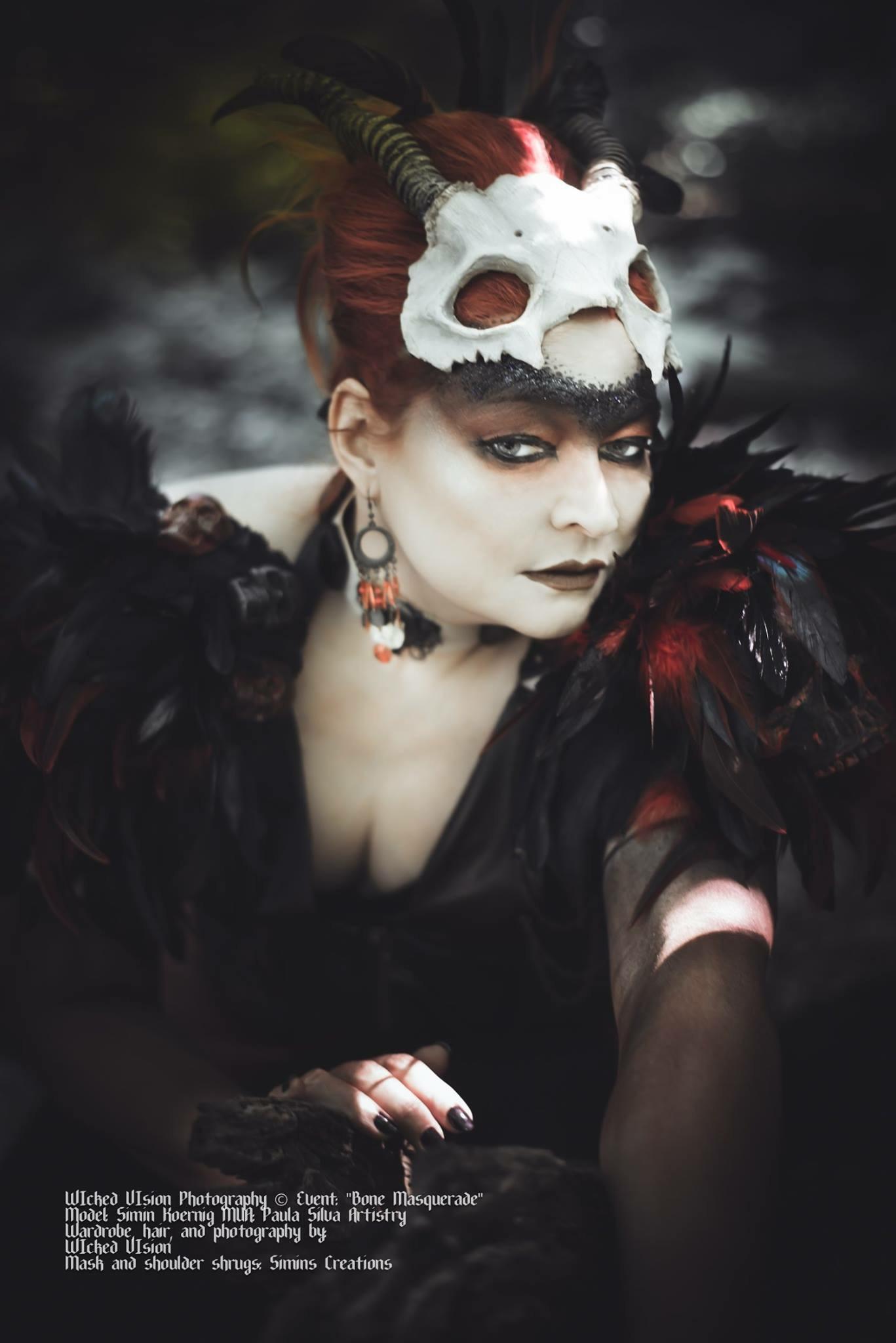 Bone Masquerade Wicked Vision