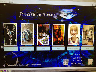 My New Jewelry Web Site look April 2013
