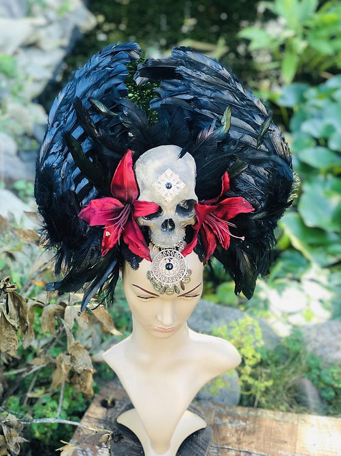 Dark Angel Wing Headdress