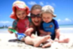 Tani Morgan, Babies, Beach