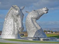 The Kelpies Mythical Scottish Water Horses