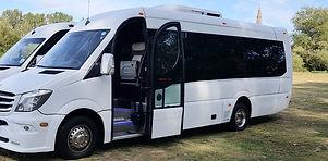 Corporate mini bus hire in Scotland