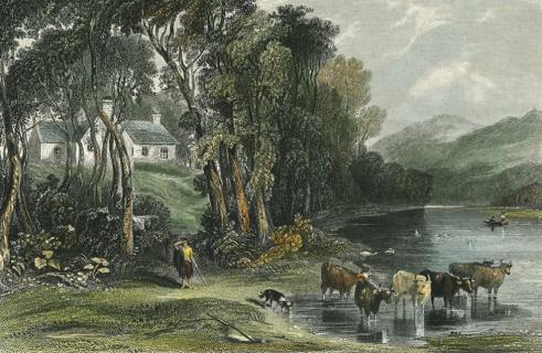 Robert Burns farm in Ellisland