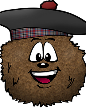 Hector+Hairy+Haggis+Soft Toy
