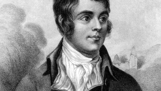 Rabbie Burns, the National Bard, Bard of Ayrshire,  Although best known as one of the pioneers of the Romantic movement