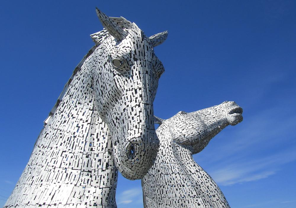 The Kelpies a mystical Scottish legend, visit them on a hairy haggis day tour