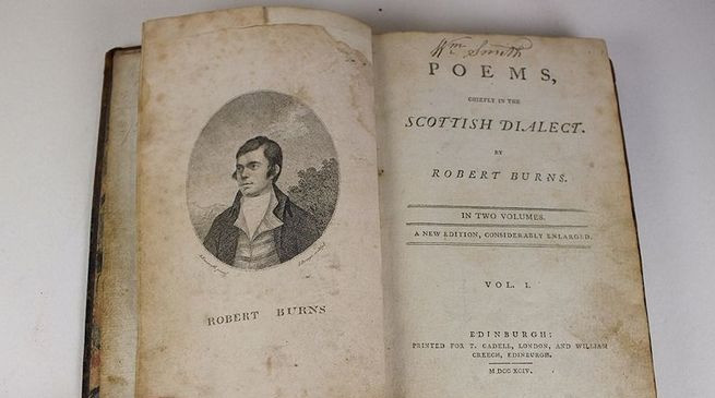 Poems, Chiefly in the Scottish Dialect by Robert Burns, V1