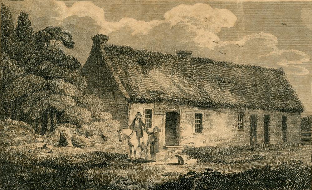 Birthplace of Robert Burn on January 25, 1759 in Ayrshire, Scotland