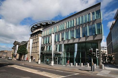 Edinburgh conference center coach hire.j