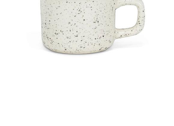 Enamel look espresso cup