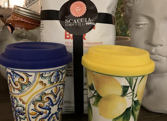 Lemon tree takeaway cup