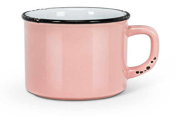 Cappuccino cup pink