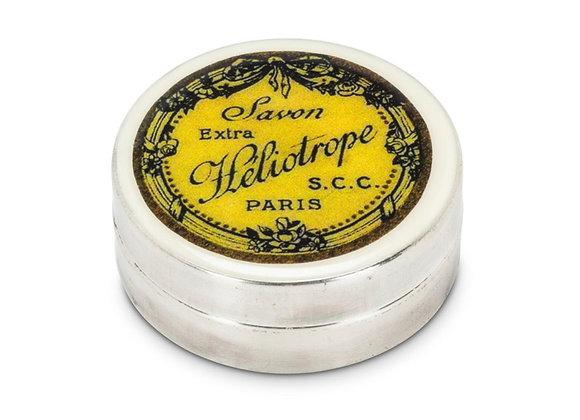 Heliotrope round box