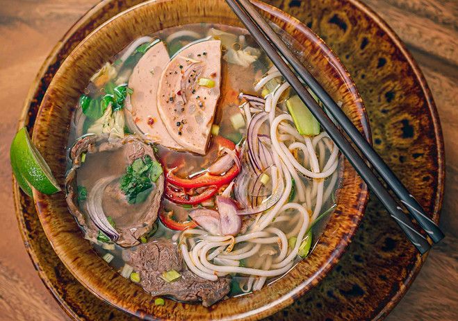35. Beef Noodle Hue Style