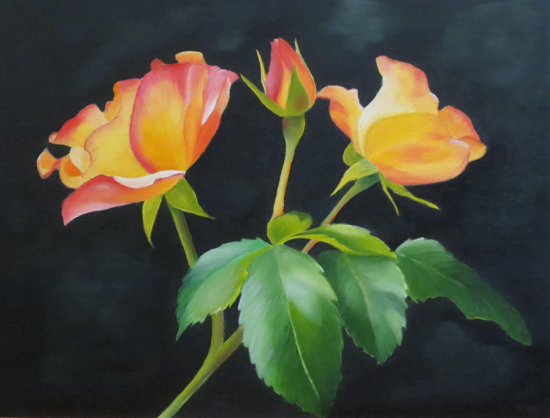 Yellow Roses II