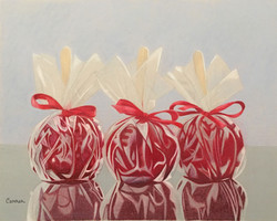Candied Apples at the State Fair