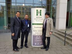 With Dr Nagai & Dr Saraogi