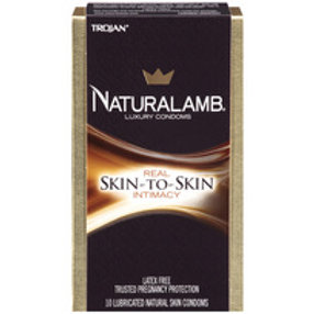 TROJAN NATURALAMB CONDOMS 3PK