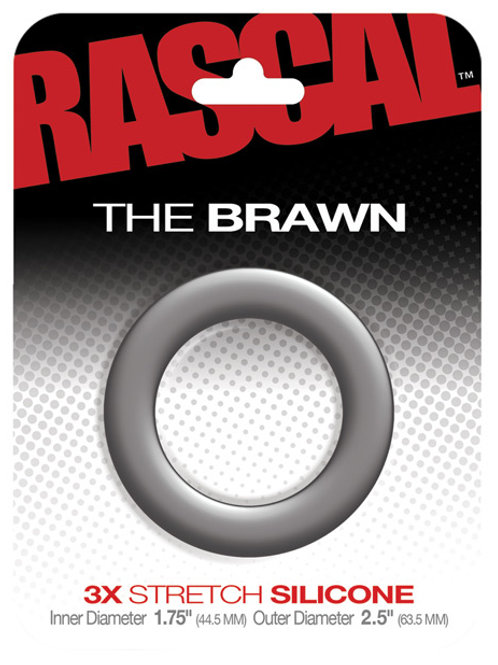RASCAL STARTER KIT BRAWN COCK RING GREY