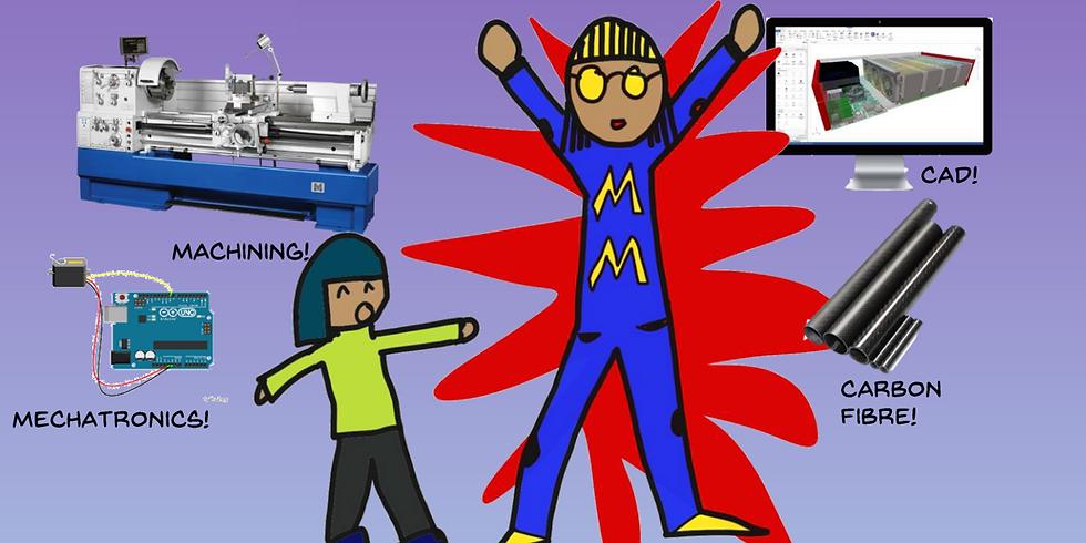 Engineering Superheroes Virtual STEM Event