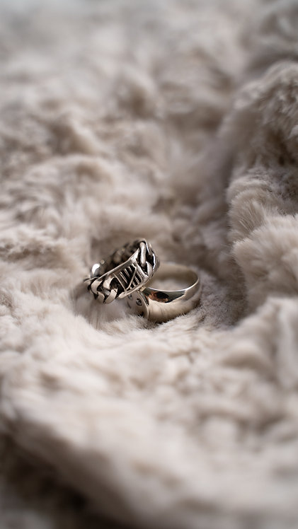 Rantai Ring Silver