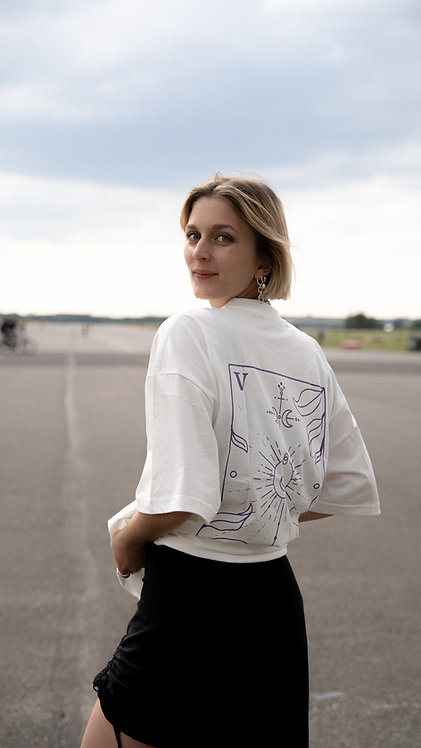 Tri T-shirt Tarot Off-White