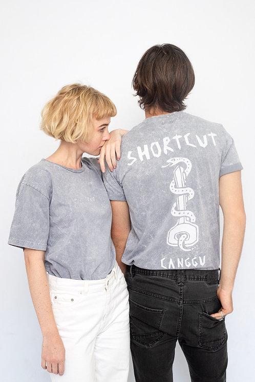 Kadek T-shirt Vintage grey