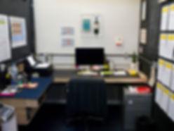 Espaço de Trabalho de Anna Israel no G2 - CAC - Conglomerado Atelier do Centro