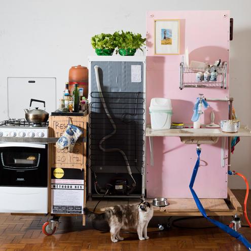 Cozinha  Lagosta II, 2019 (Lobster Kitchen II, 2019)