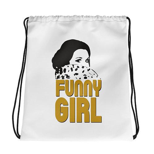 FUNNY GIRL Drawstring bag