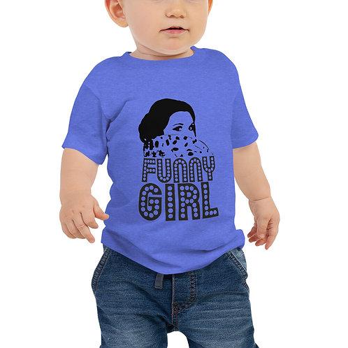FUNNY GIRL Baby Jersey Short Sleeve Tee