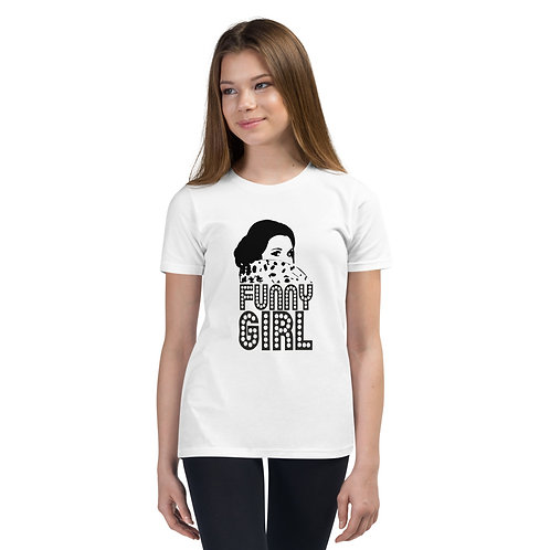 FUNNY GIRL Youth Short Sleeve T-Shirt