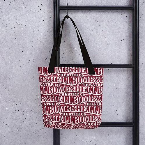 Bombshell Print Tote Bag