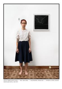 Fabiana com Desenho RES em sua casa, 2021
