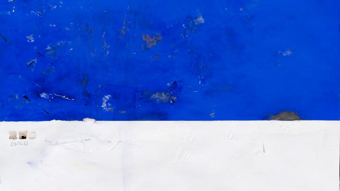 Sem título (azul) - 050221, Rubens Espírito Santo