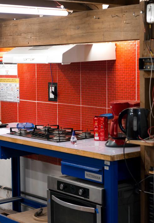 Cozinha CAC, 2020
