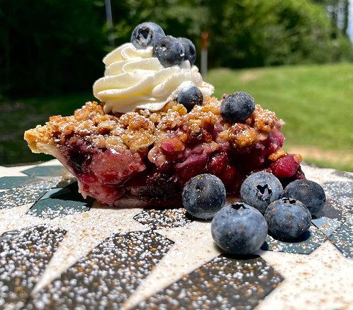 Pear Berry Pie