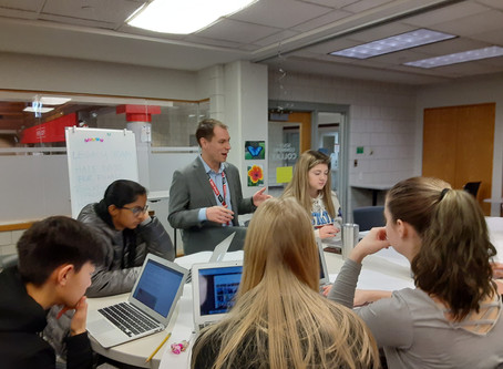 EPHS Eagle Voice Update: Students Pitch Prototypes to Staff
