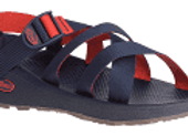 Men's Chaco Sandal - Banded Z Cloud-Navy Red